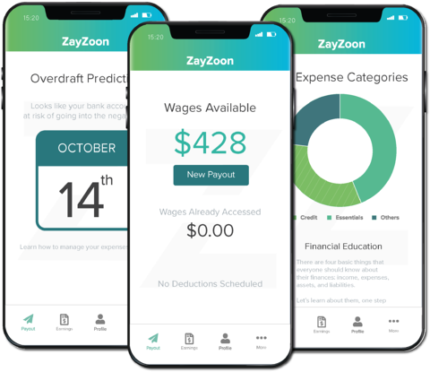ZayZoon Earned Wage Access and Financial Education for Employees